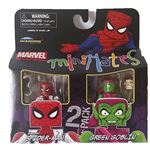Marvel Unmasked Spiderman & Green Goblin