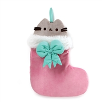 GUND Pusheen Christmas Stocking Plush, Multicolor, 11""