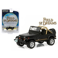 Greenlight - Hollywood Series 14 - 1987 Black Jeep Wrangler (Field of Dreams)