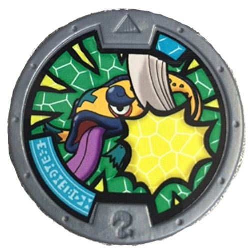 Yo-Kai Watch Series 2 Fishpicable Medal [Loose]