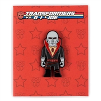 Kidrobot Transformers vs G.I. Joe Enamel Pin Series - Destro (1/20)