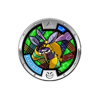 Yo-Kai Watch - Series 3 Medal - Scritchy (1/24)