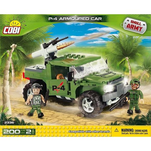 COBI Small Army P4 Armoured Car (2336)