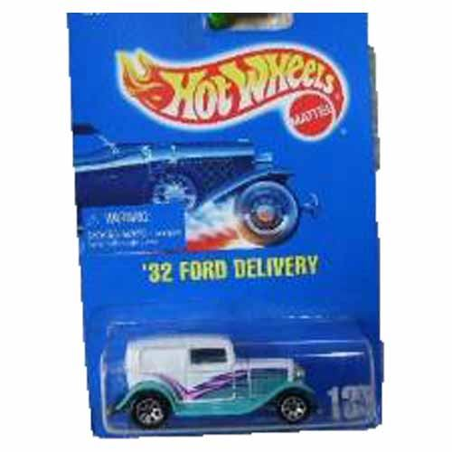 1995 - '32 Ford Delivery Blue Card #135 w/7 Spoke Wheels
