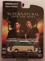 Greenlight - Hollywood Series 13  - Supernatural (2005) Beige 1967 Volkswagen Samba Bus (Green Machine)
