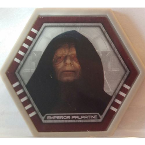 Star Wars Galactic Connexions - Emperor Palpatine - Gray/Standard - Common