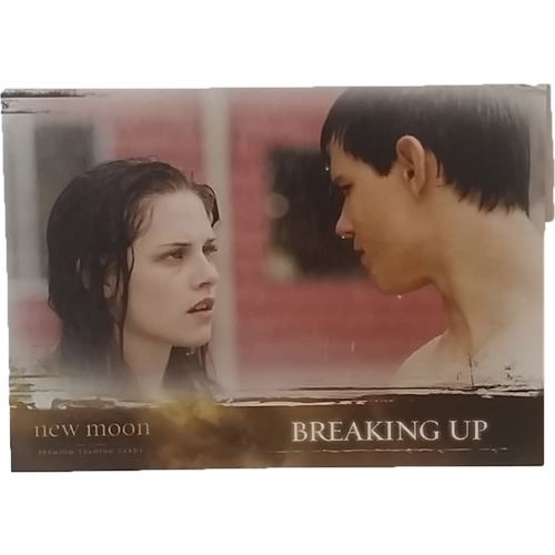 Twilight - New Moon Trading Card #52 - Breaking Up