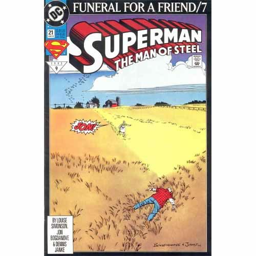 Superman #21 - Funeral for a Friend/7 -