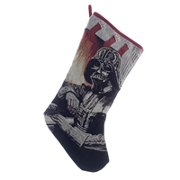 "Kurt Adler 19"" Holiday Stocking - Star Wars- Darth Vader Tapestry Stocking"