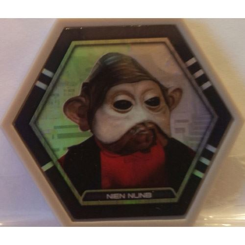 Star Wars Galactic Connexions - Nien Nunb - Gray/Holographic Foil - Common