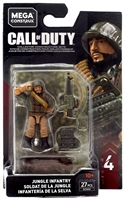Call of Duty Mega Construx Specialists Jungle Infantry
