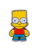 Kidrobot The Simpsons Enamel Pin Series - Bart