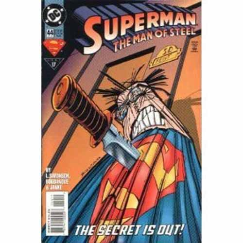 Superman Man of Steel #44 - The Secret is Out