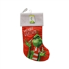 "Kurt Adler 19"" Holiday Stocking - Dr. Seuss' The Grinch Merry Whatever"