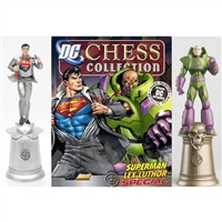 DC Chess Figure Collection Special Superman & Lex Luthor King Set