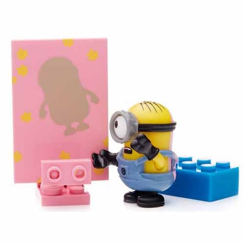 Buildable Minions Blind Packs Series V - Pink - Common