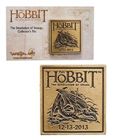 Weta Workshop The Hobbit The Desolation of Smaug Collectable Pin