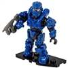 Mega Bloks Halo - Foxtrot Series - Mini Blind Bag Figure - Blue Aviator Spartan