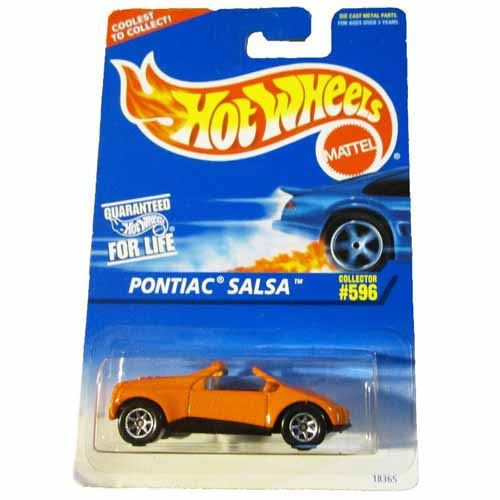 Pontiac Salsa Orange 7 Spoke Wheels  #596