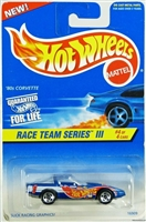 Hot Wheels Race Team Series III - '80's Corvette