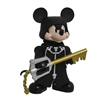 Diamond Select- Vinimates-  Kingdom Hearts 2 Black Coat Mickey Figure