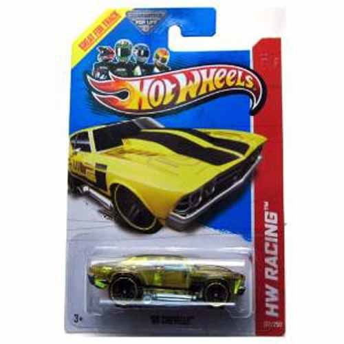 2013 Racing '69 Chevelle Translucent Yellow