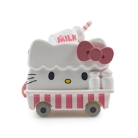 Kidrobot Minis - Hello Sanrio Micro Vehicle Series - Hello Kitty Milk Truck (3/24)