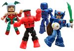 Minimates Marvel vs. Capcom 3 SDCC 2011 Exclusive