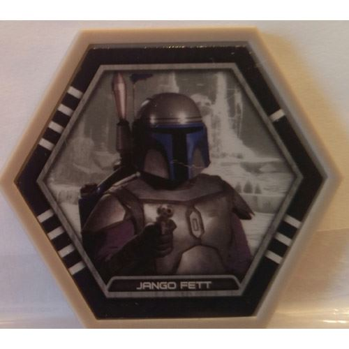 Star Wars Galactic Connexions - Jango Fett - Gray/Standard - Common
