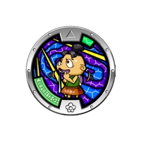 Yo-Kai Watch - Series 3 Medal - Wantston (1/24)