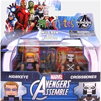Avengers Assemble 2pk Exclusive Crossbones & Hawkeye