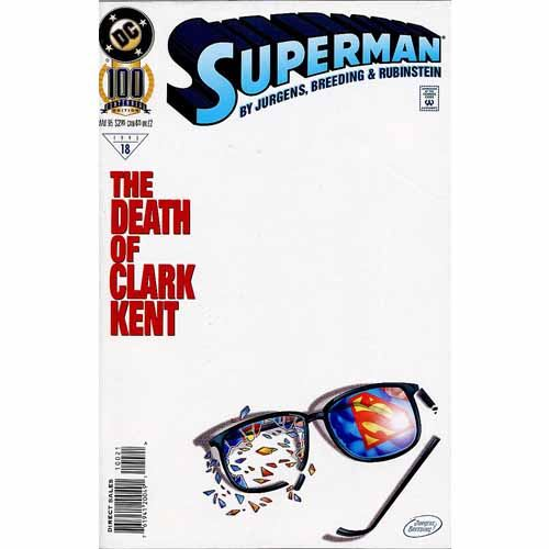 Superman #100 - The Death of Clark Kent