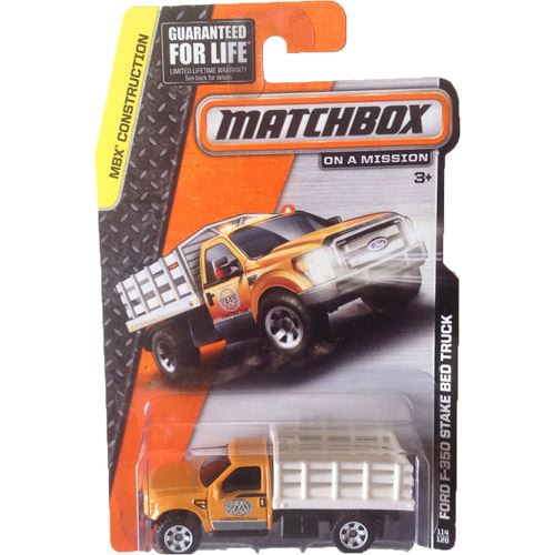 Construction - Ford F-350 Stake Bed Truck (Orange/White)  (114/120)