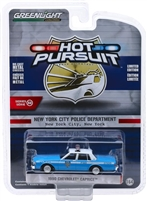 Greenlight - Hot Pursuit Series 32 - 1990 Chevy Caprice NY City Police Dept