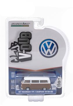 Club V-Dub Series 1 - 1977 Volkswagen Type 2 Bus Champagne Edition Agate Brown w/ Atlas White