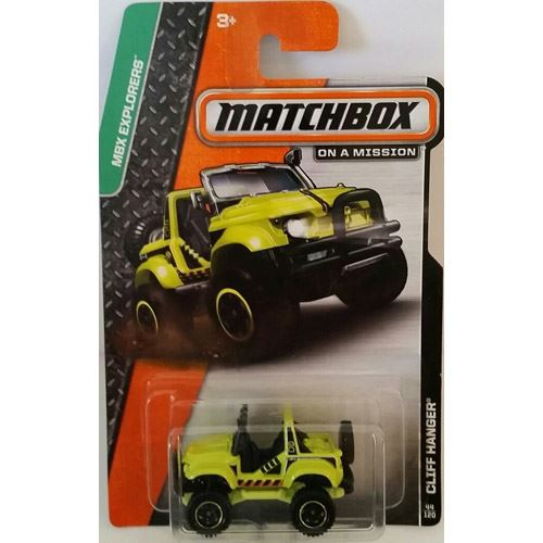 Matchbox Explorers - Cliff Hanger (44/120)