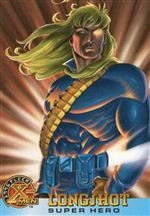 "1996 X-MEN Fleer Trading Cards - ""Super Hero"" - #54 -""Longshot"""