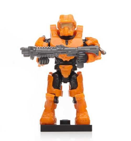 "Halo Charlie Series - Orange Centurion Spartan (""Fred"") w/ Tactical Shotgun"