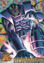 "1996 X-MEN Fleer Trading Cards - ""Super Villain"" - #59 -""Apocalypse"""