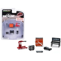 Greenlight Muscle 6 Piece Set Shop Tools Graveyard Carz (2012) TV Series