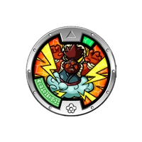 Yo-Kai Watch Series 4 Medal - Papa Bolt