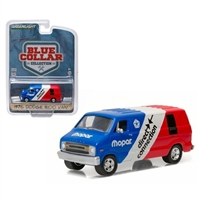 "Greenlight - Blue Collar Collection 1 - 1976 Dodge B100 ""Mopar Delivery"""