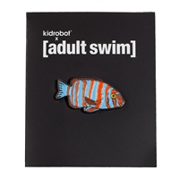Kidrobot Adult Swim Enamel Pin Series 1 - Mammoth (Fish Center)
