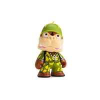 Kidrobot Teenage Mutant Ninja Turtles Series 2 - Shell Shock Sargeant Bananas