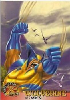 "1996 X-MEN Fleer Trading Cards - ""X-MEN"" - #13 - ""Wolverine"""