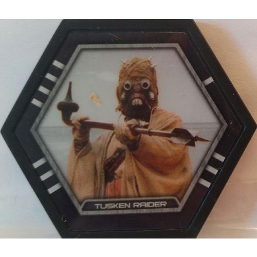 Star Wars Galactic Connexions - Tusken Raider - Black/Standard - Uncommon