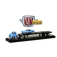 M2 Machines - Auto-Haulers (R12) - 1956 Ford Coe & 1966 Ford Mustang GT 2+2 Fastback