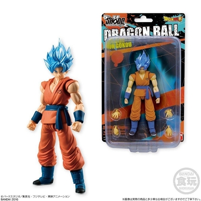 Bandai Shokugan Shodo Part 2 - Super Saiyan Son Goku