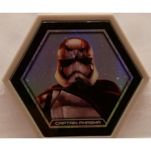 Star Wars Galactic Connexions - Captain Phasma - Gray/Holographic Foil - Common