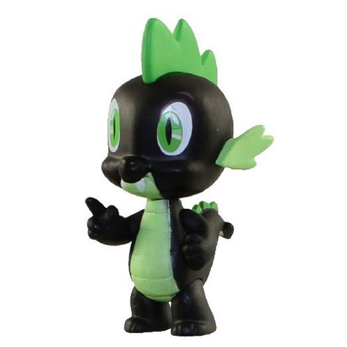 Funko- My Little Pony Mystery Mini Series 3 - Spike (Black)